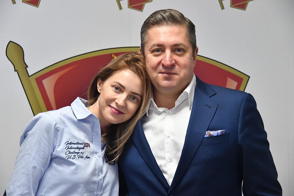 Наталья Поклонская и ее муж Иван Соловьев