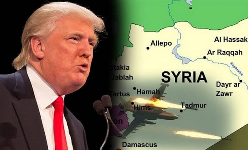 США встали поперек Сирии