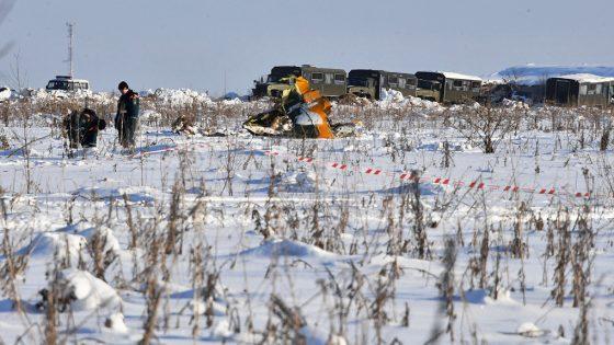 Специалисты расшифровал данные с речевого самописца Ан-148, разбившегося в Подмосковье