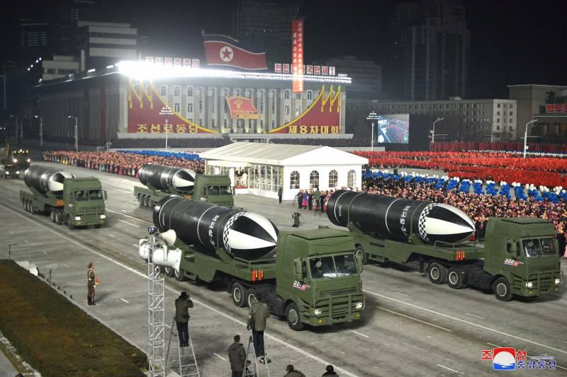 «Самое мощное оружие в мире»: северокорейская ракета «Пуккыксон-5А» оружие