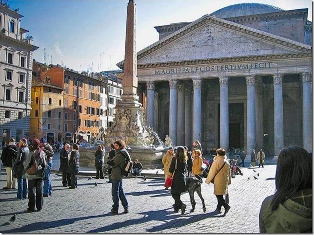 Почему в старых храмах купола были открыты? Сохранились ли такие? Римский Пантеон