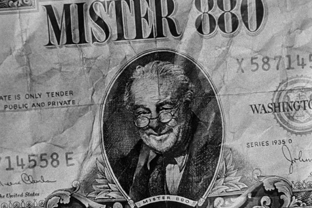 «Mister 880» - самый странный и самый неуловимый фальшивомонетчик в истории