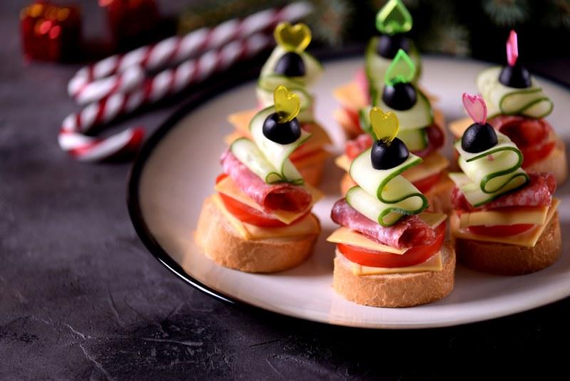 Поздравляет, картинки бутерброды канапе
