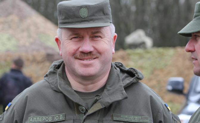 Бывший глава Нацгвардии Украины пошел на посадку