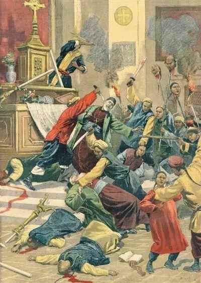"""""""Боксеры"""" громят христианскую церковь в Маньчжурии"""