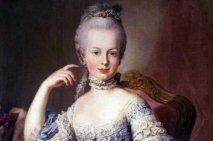 Юная принцесса Мария Антония.
