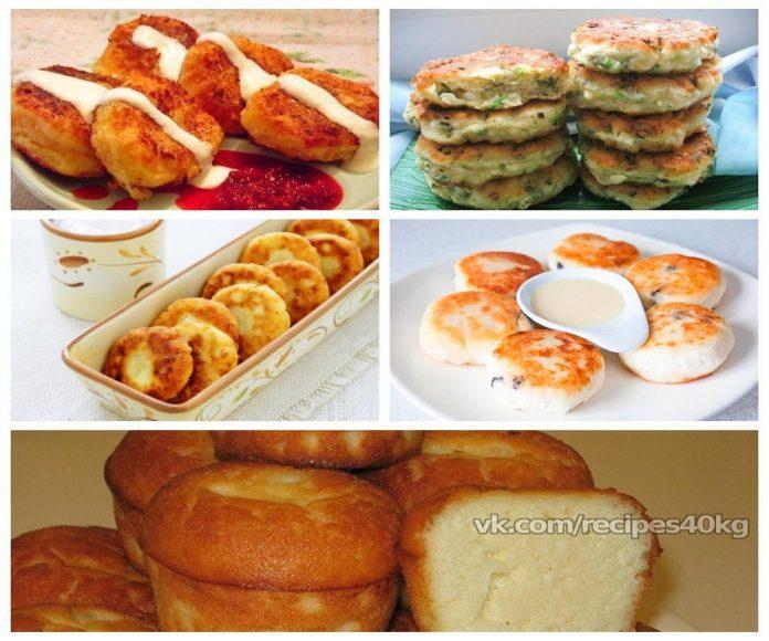 Топ-5 рецептов низкокалорийных сырников для ПП-завтрака