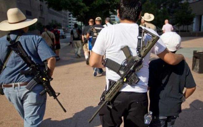 Оружие – неотъемлемая часть американской жизни.