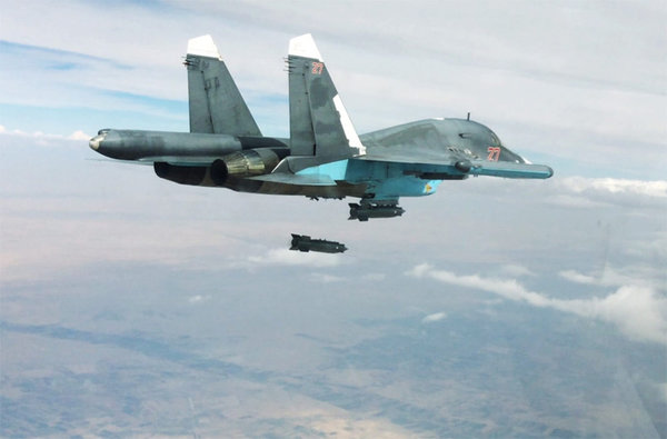Российская авиация стерла в …