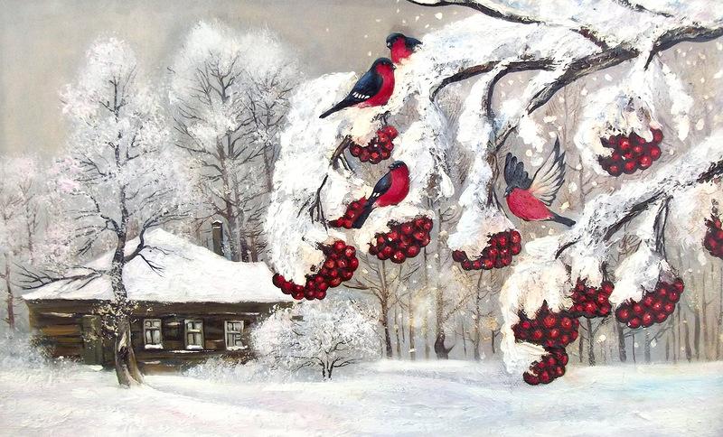 Пока есть снег - жива Россия :-)
