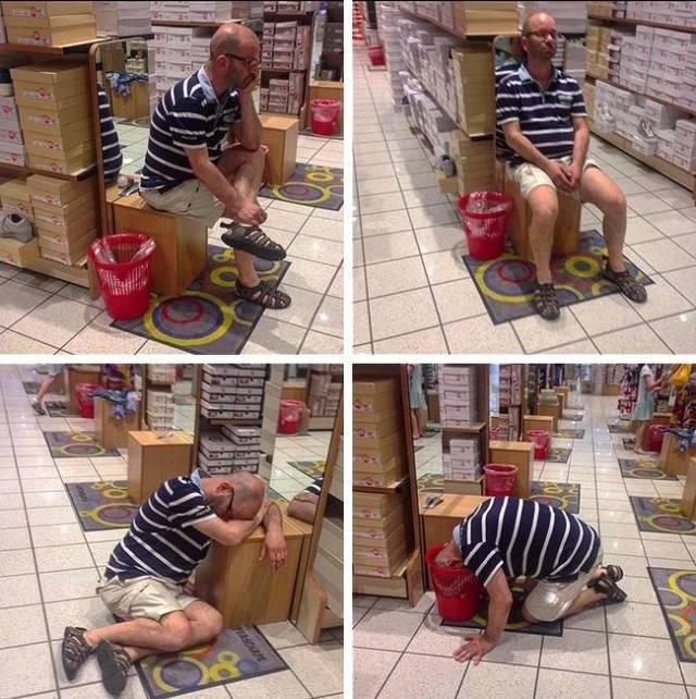 Мужчины на шопинге (29 прико…