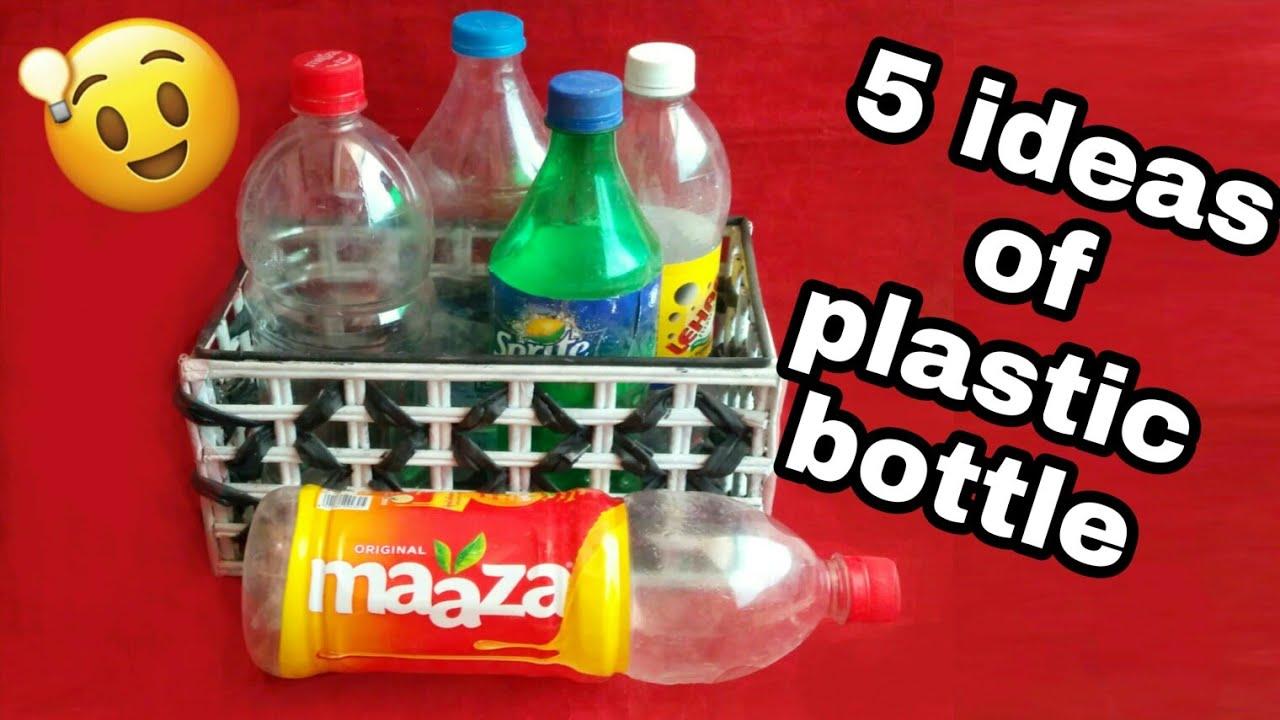 Поделки из пластиковых бутылок своими руками: 5 лучших идей для хэндмейда