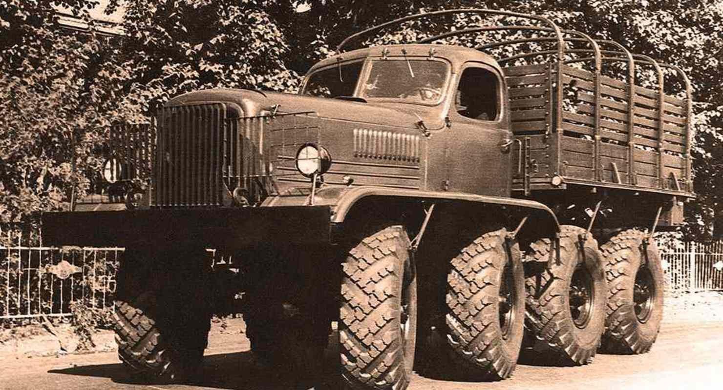 ЗИС-Э134 — история создания специального военного автомобиля Автомобили