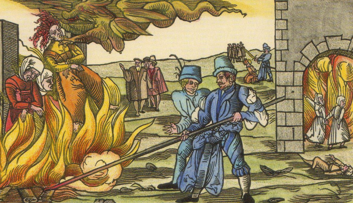 Как вышло так , что все исландские ведьмы оказались мужчинами дальние дали