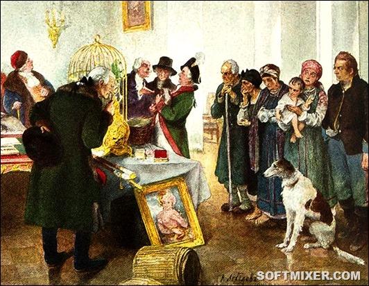 Торговля людьми в России XVIII - XIX веков