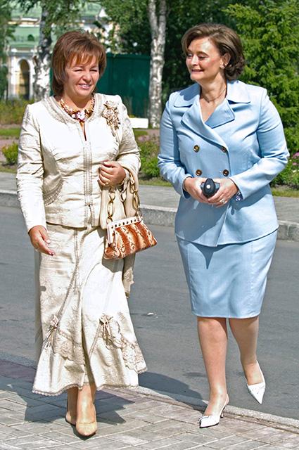 Людмила Путина и Шери Блэр