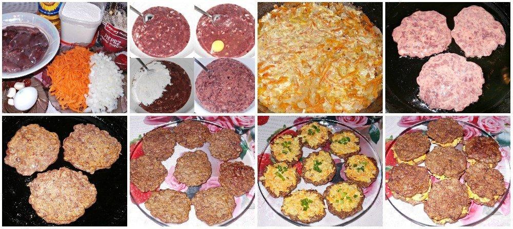 Прекрасная подача и вкус — «Пирожные» из печени