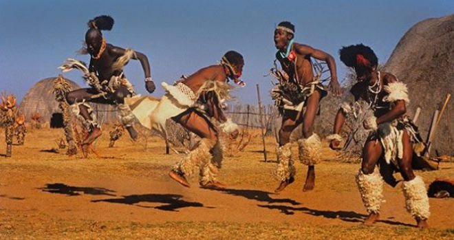 Танцующие аборигены