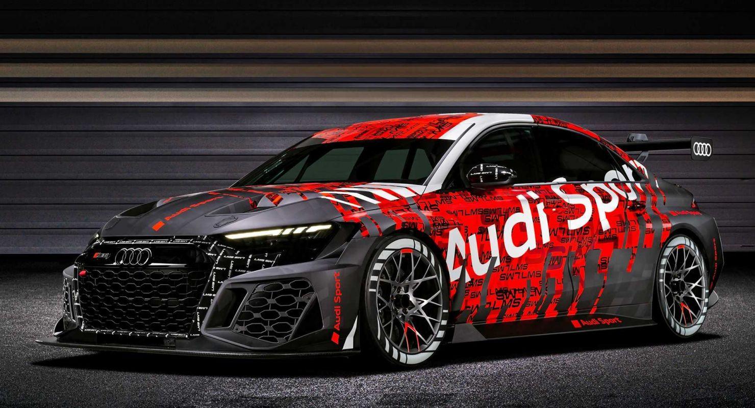 Audi RS3 LMS 2021 года дебютирует как гоночный автомобиль начального уровня с мощностью до 340 л.с. Автомобили