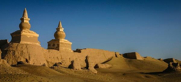 Город, затерянный в пустыне