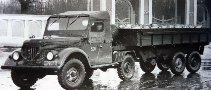 Седельный тягач УАЗ-456.