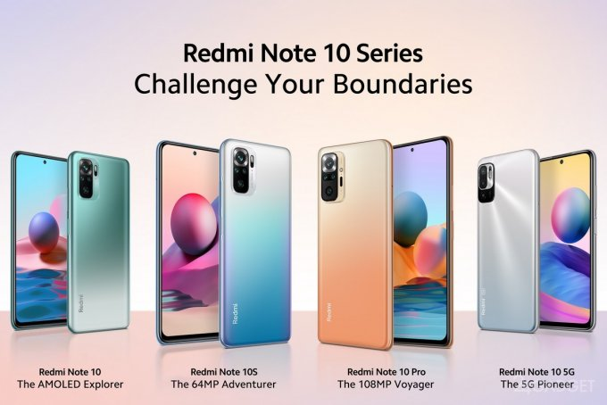 Xiaomi представила глобальную версию смартфонов серии Redmi Note 10 по цене ниже 300 долларов