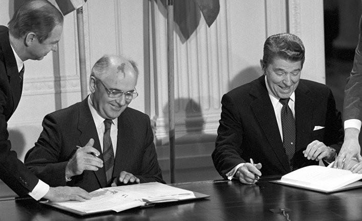 Михаил Горбачев: США и Росси…