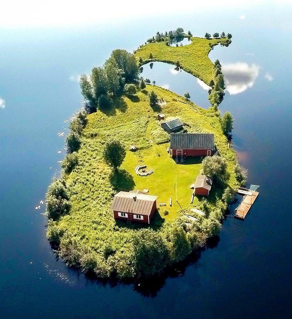 Сказочный финский чудо-островок Котисаари