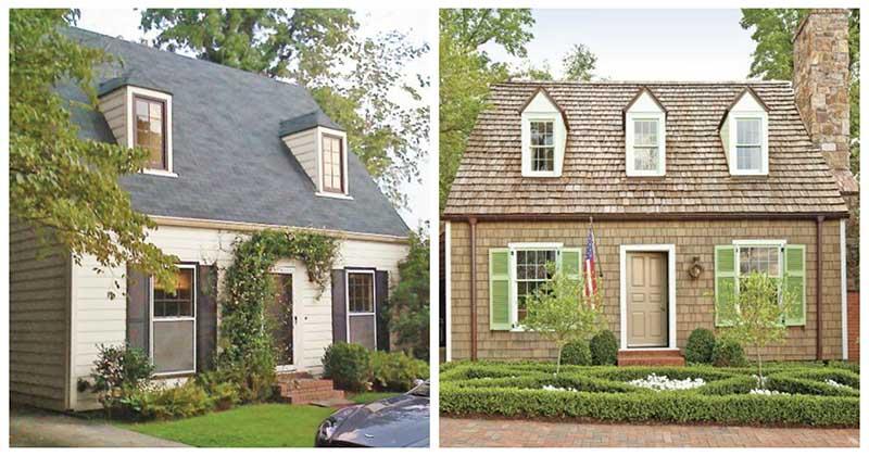Вы только посмотрите, как обновление фасада полностью изменило весь дом