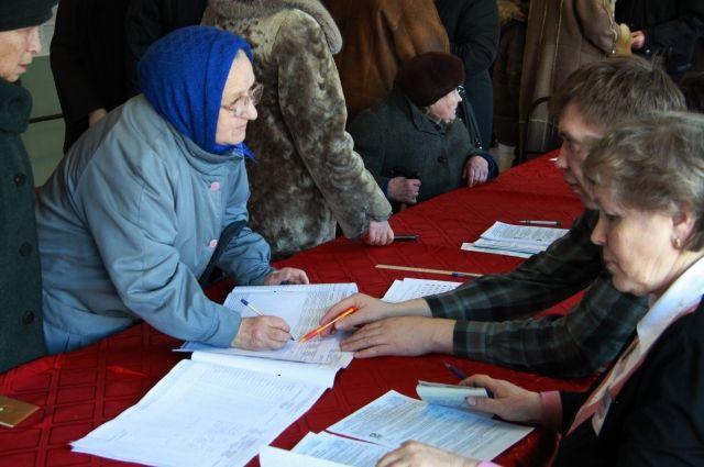Треть жителей Хабаровского края и Сахалина проголосовали к полудню