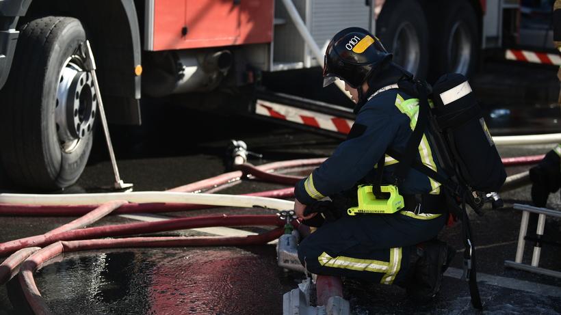 Пожар произошел на Московско…