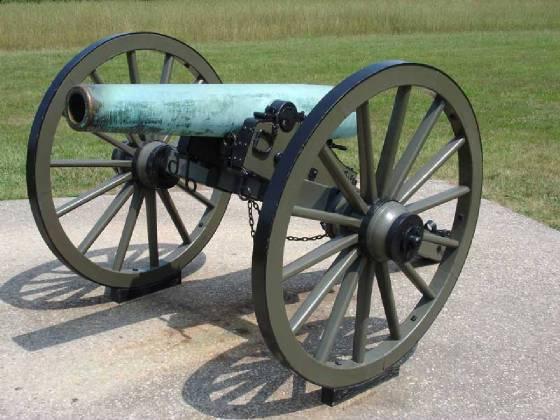 Север и Юг: пушки гладкоствольные и нарезные оружие