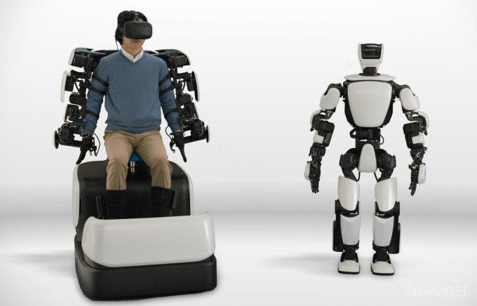 Робот-аватар Toyota T-HR3 получил удалённое управление по 5G роботы