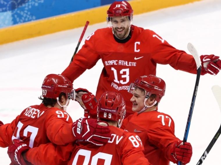 Россия— олимпийский чемпион похоккею наОлимпиаде вПхенчхане!