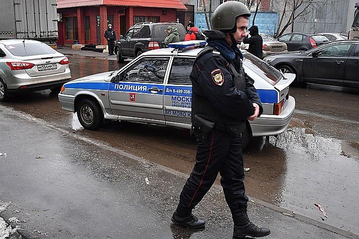 В Москве задержаны шестеро мужчин, устроившие драку около отдела ФСБ