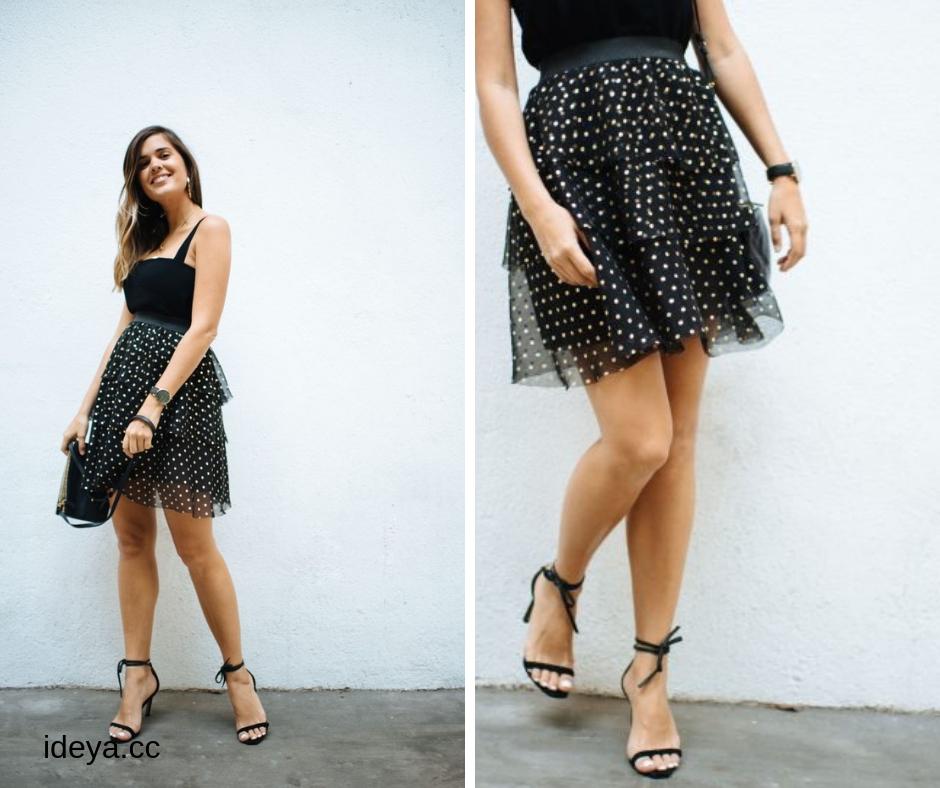 Мастер-класс по пошиву многоярусной юбки