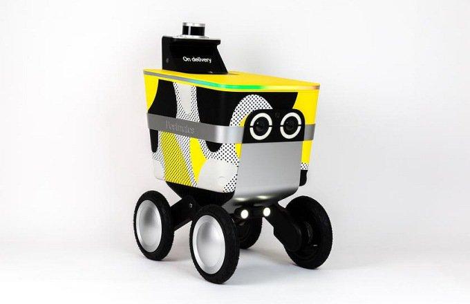 Логистическая компания создала себе в помощь робота-тележку (2 фото)