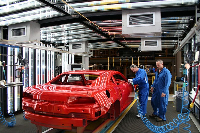 Самые впечатляющие автомобильные заводы мира Haval, bmw, general motors, автозавод, автомобиль, китай
