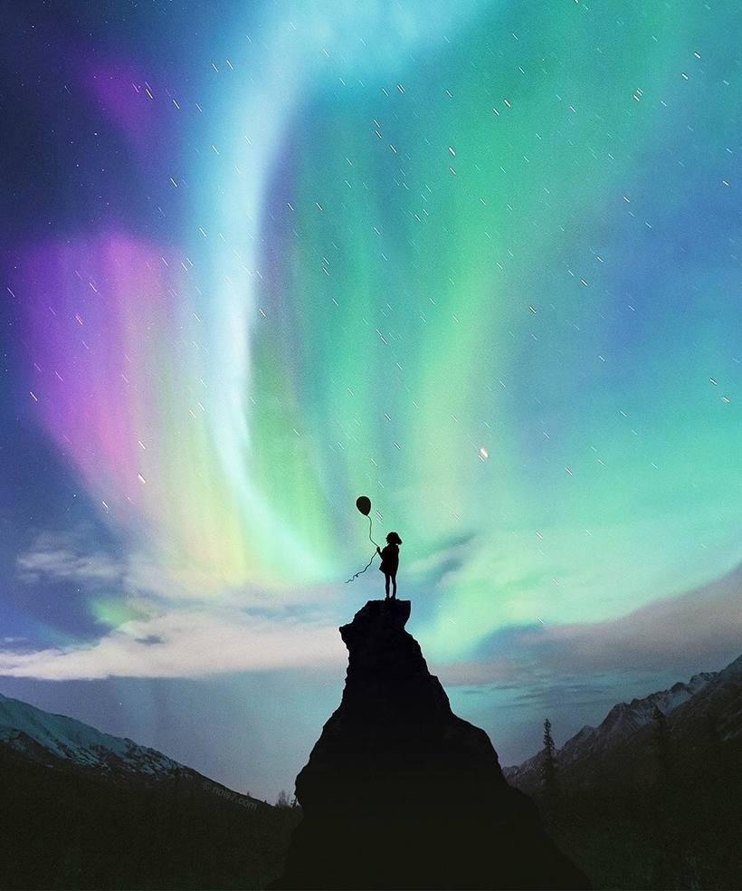 Художник превращает реальный мир в сказочные пейзажи, в которых хочется очутиться