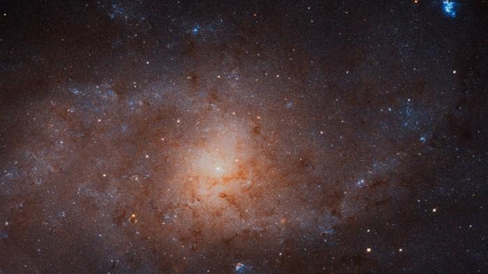 «Хаббл» сделал наиболее детальный в истории снимок галактики Треугольник Космос, Треугольник, Телескоп Хаббл, Снимок, Галактика, Длиннопост