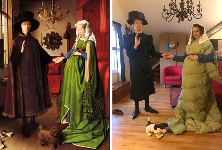 20+ человек сделали пародию на мировые шедевры, и некоторые, кажется, переплюнули оригинал