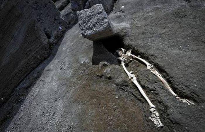 Самый невезучий парень в Помпеях.