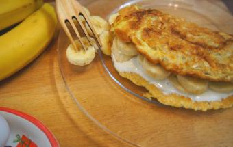 Очень вкусный, быстрый и полезный завтрак!