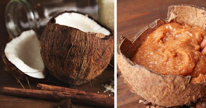 Что можно сделать из кокосовой скорлупы