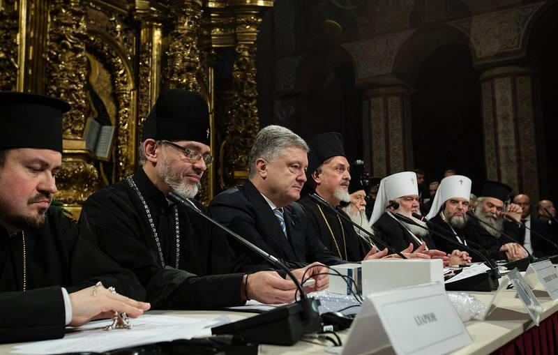На Украине создана новая поместная православная церковь