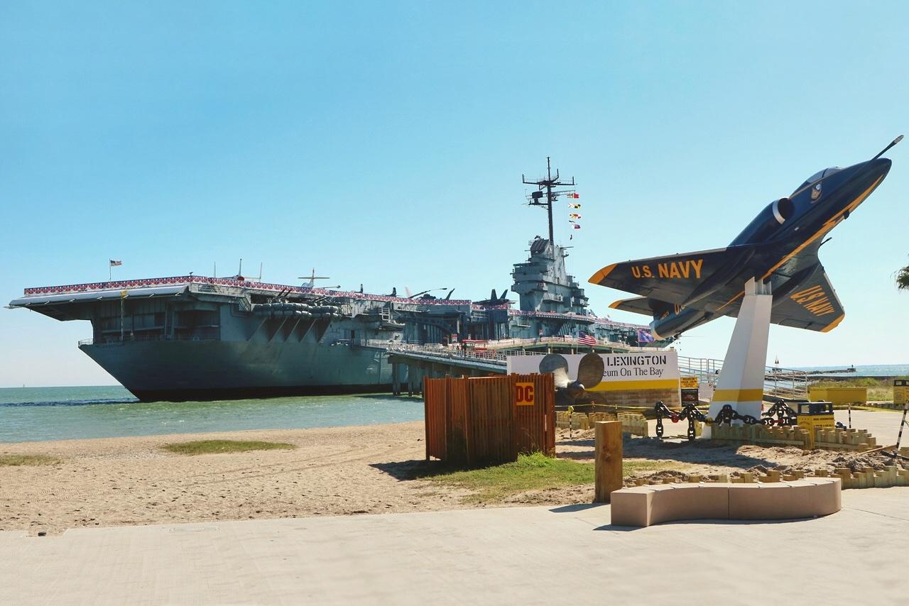 Авианосец USS Lexington: Плавучий авиамузей в Техасе