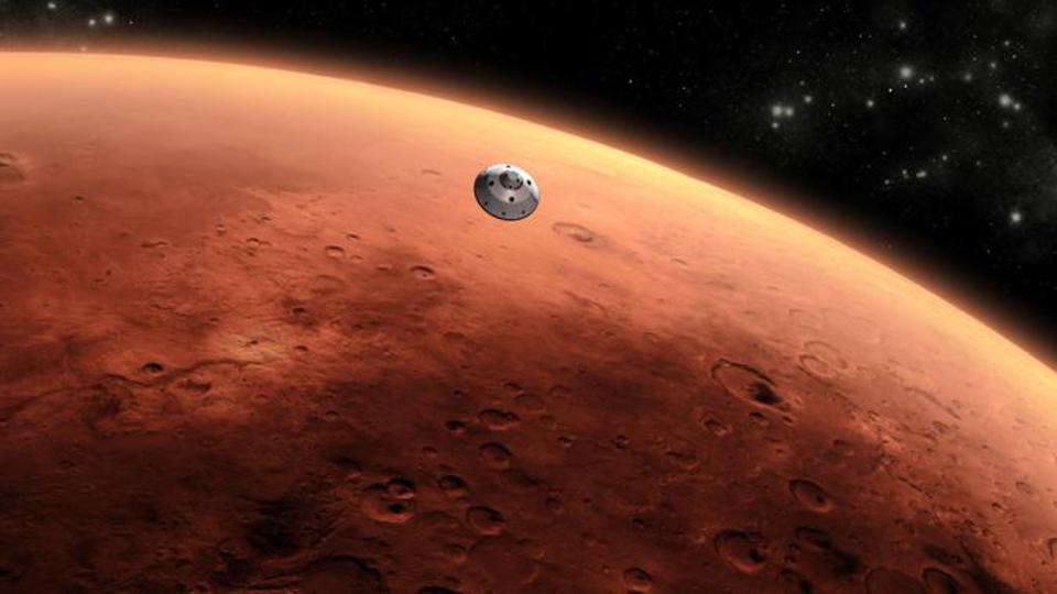 NASA зафиксировало на Марсе …