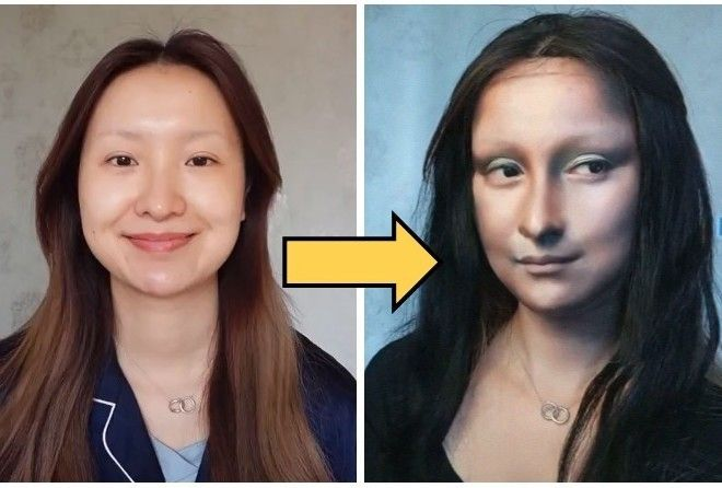 Китаянка так маскируется под знаменитые картины, что вы будете шокированы!