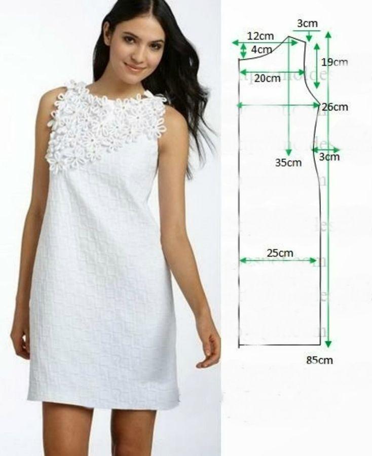 платье прямое свободное выкройка шьем с фото только