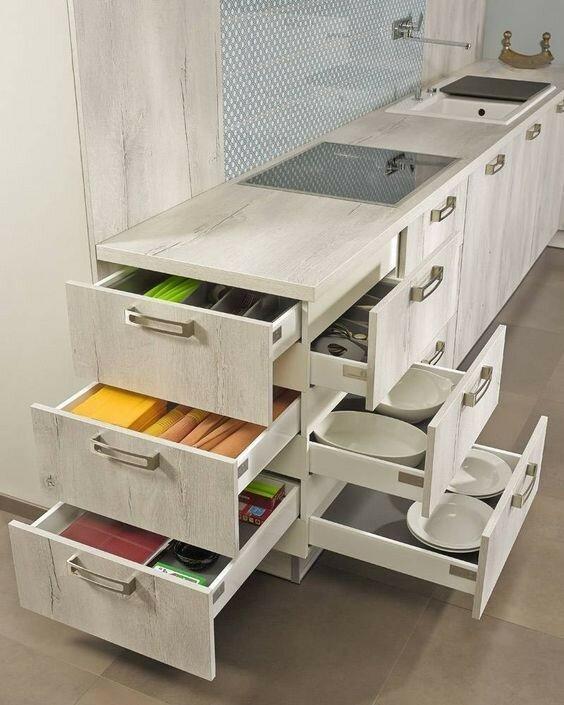 Интересные решения дополнительного места хранения идеи для дома,интерьер,хранение